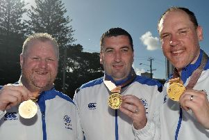 The trio of 2018 Commonwealth Games gold medal winners, Ronnie Duncan, Derek Oliver, and Darren Burnett, are the No.3 seeds