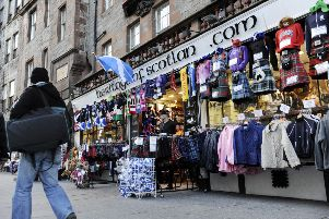 Gold Brothers shop Heritage Of Scotland . Picture: Greg MacVean