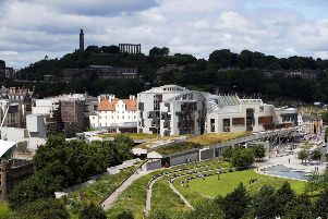 Scottish Parliament in Holyrood. Jane Barlow/PA Wire