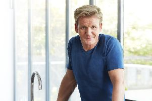 Scottish chef Gordon Ramsay. Picture: PA Photo/Hodder & Stoughton/Con Poulos.