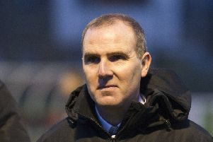 Edinburgh City manager James McDonaugh was angry after Berwick snatched a point