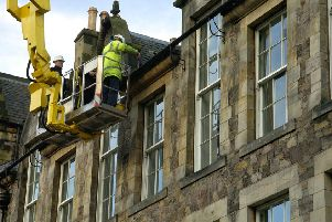 Edinburgh tenements are not undergoing the necessary repairs and maintenance. Picture: Callum Bennetts
