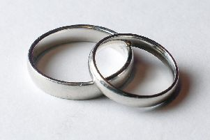 More than 400 people filed for divorce over the festive period - including 13 on Christmas Day, official figures show. Picture: PA Wire