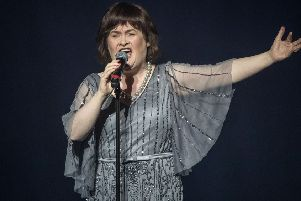 Susan Boyle at Britain's Got Talent - A Big Celebration in aid of Alder Hey Children's Hospital.  Picture: Tom Dymond/REX/Shutterstock