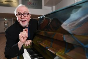 Scottish film composer Patrick Doyle. Picture: John Devlin
