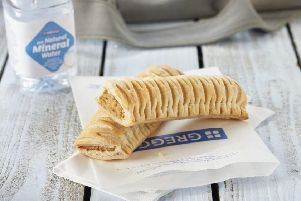 The now famous vegan sausage roll from Greggs (Photo: Greggs)