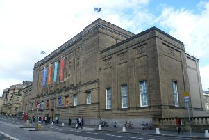 The exhibit was removed from the National Library of Scotland in Edinburgh. Picture: Kim Traynor/Wikicommons