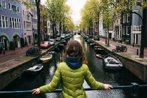 Amsterdam, which attracts more than six million visitors a year, is trying to tackle 'overtourism'