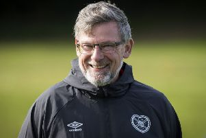 Hearts manager Craig Levein was at the meeting in Perth