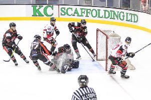 Murrayfield Racers defeated Paisley Pirates 4-3 last weekend. Picture: Ian Coyle