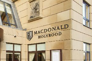 MacDonald Hotels at Holyrood in Edinburgh. Picture: TSPL