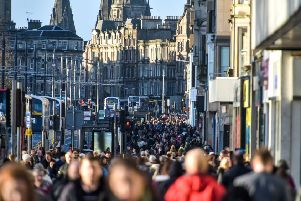 A top economist has called for Edinburgh to double its population in 25 years. Picture: SWNS