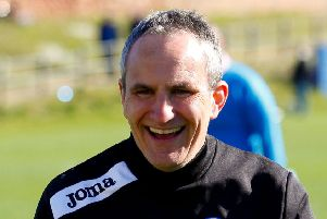 Stevie McLeish spent two-and-a-half years in charge of Newtongrange Star