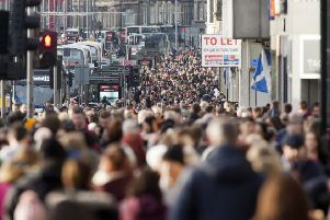 Economist Andrew Wilson says Edinburgh's population is likely  to double in 25 years. Picture: Alistair Linford