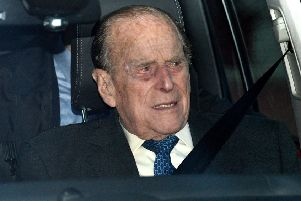 Buckingham Palace said that Prince Philip was uninjured in the incident. Picture: PA