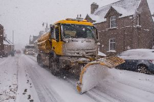 Parts of Scotland plunged to -10C last night. Picture: TSPL