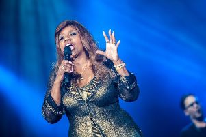 Gloria Gaynor's 'I will Survive' is among the songs said to have a morale boost. Pic: Shutterstock/Nikola Spasenoski