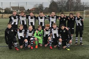 Edinburgh City Whites Under-13s progressed to the final of the Persevere Cup. Pic: TSPL