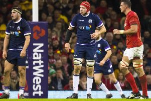 Scotland were on the wrong end of defeat in Wales last year in their Six Nations opener. Pic: SNS