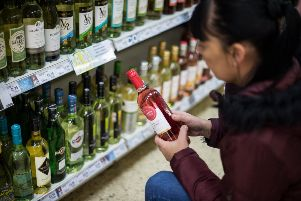 Lord Tebbit believes drinkers will benefit from cheaper liquor in the event of a no-deal Brexit. Picture: John Devlin