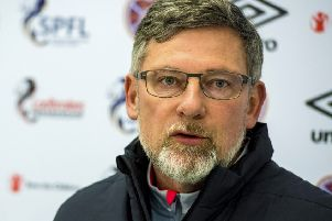 Craig Levein says he was laughing when he heard what Michael Stewart had to say