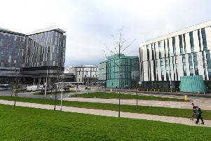 The Queen Elizabeth University Hospital. Picture: John Devlin