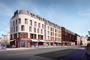 Drum Property Group's artist impression for Leith Walk. Picture: JP