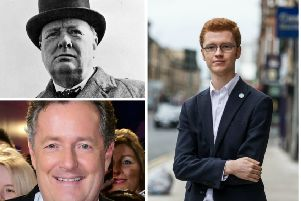 MSP Ross Greer has been attacked by Piers Morgan over a disparaging remark about the late Sir Winston Churchill. Pictures: Contributed/PA/TSPL