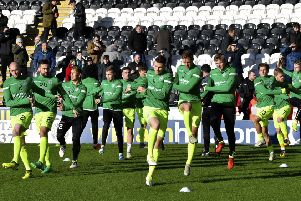 Hibs received a much-needed boost with the win over St Mirren last Sunday and there is the nucleus of a good squad for their new head coach to work with. Pic: SNS
