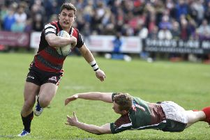 Edinburgh rugby star Hoyland has also played four times for the national side. Picture Ian Rutherford