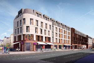 Revised proposals by Drum Property Group for a �50 million development on Leith Walk have been rejected by councillors
