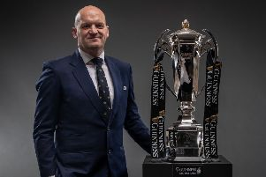 Scotland head coach Gregor Townsend. Picture: INPHO/Billy Stickland