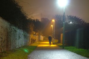 500 faulty street lights went unfixed over the winter. Pic: John Goldsmith