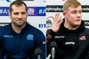 Fraser Brown and Murray McCallum have been added to Scotland's Six Nations squad. Pictures: SNS Group