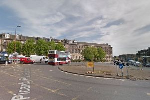Picardy Place Roundabout. Picture: Google Maps