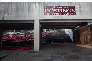 The Postings shopping centre in Kirkcaldy was up for auction with a guide price of just �1