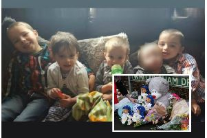 The four young children who died in the Stafford house fire have been named locally. Picture: Contributed