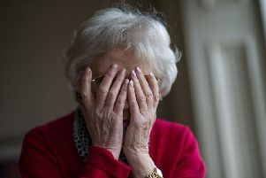 Lothian's dementia support record has been described as 'shameful'. Pic: John Devlin