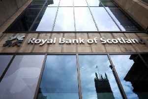 The Royal Bank of Scotland branch on Princes Street in Edinburgh. Picture: Jane Barlow/PA Wire