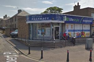 The Wallyford Pharmacy was broken into during the early hours of Wednesday morning. Picture: Google Maps