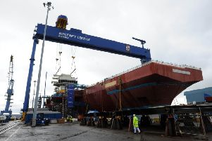 Jobs are to go in Rosyth. Picture: TSPL