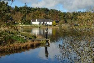 Peace and beauty at Rosslynlee Trout Fishery