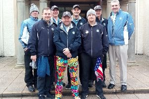 Former soldiers take training course to become caddies at St Andrews