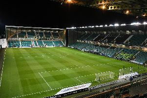 A general view of Easter Road stadium