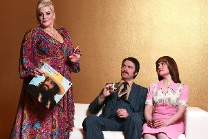 Jodie Prenger, Vicky Binns and Daniel Casey in Mike Leigh's iconic play