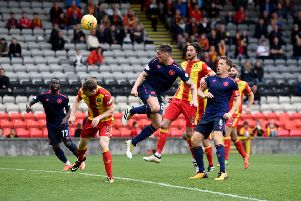 Hearts drew with Partick Thistle the last time the sides met in Glasgow. Picture: SNS