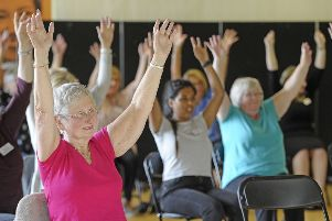 A physical activity class to support people living with dementia takes place at the Royal Commonwealth Pool.'' Clubs have warned the council it is the most vulnerable that will be impacted by cuts to the sport budget