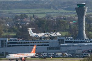 Edinburgh Airport's no-fly zones have been extended in line with new regulations affecting all airports in the UK. Picture: Ian  Georgeson