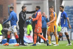 Wes Foderingham eyes a summer exit from Rangers. Picture: SNS/Rob Casey