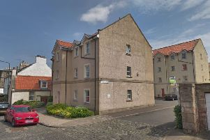 Millhill Wynd where the incident took place. Picture: Google Street View